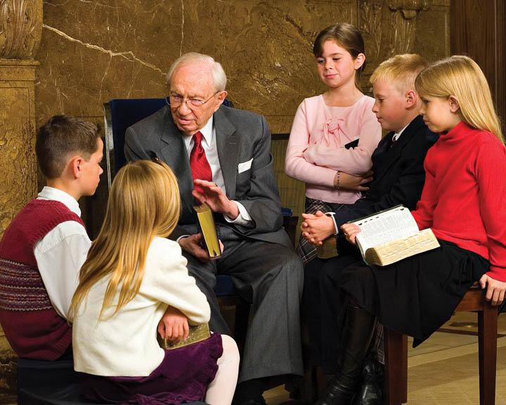 Mormon Children Hinckley