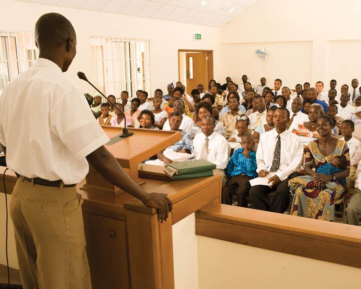 Mormon Church Worship