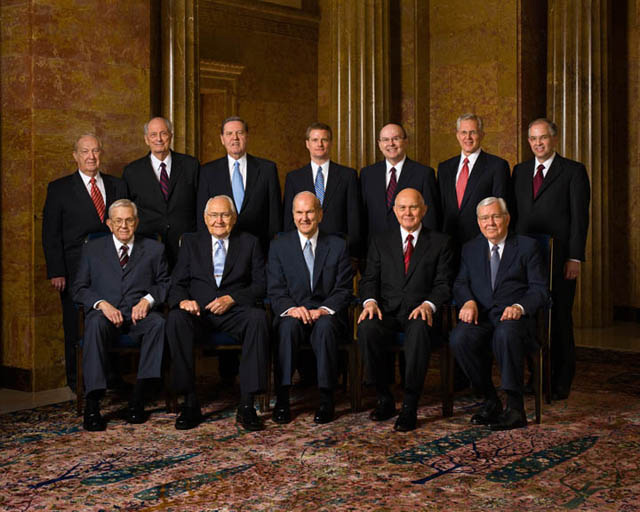 Mormon Leaders Apostles Living