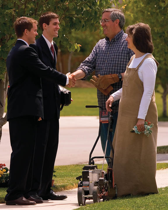 Mormon Missionary Devote Time