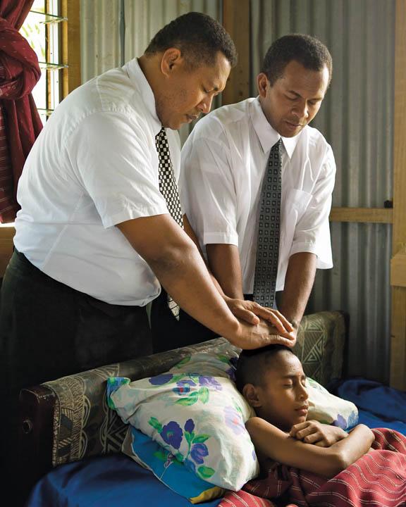 Mormon Priesthood Blessing Healing