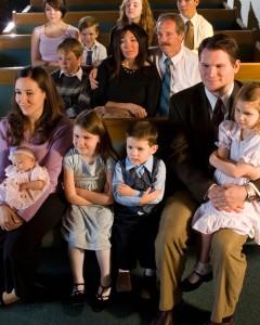 mormon church attendance