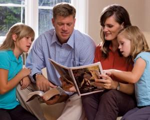 Mormon Christian Family