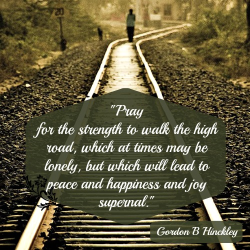strength-lonely-peace-lm Mormon Quote