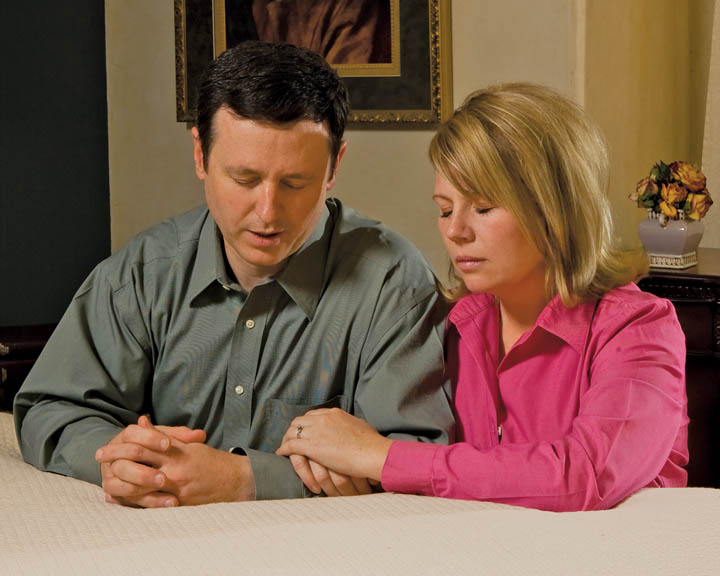 Mormon Praying Couple